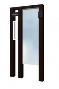 ガラス門柱